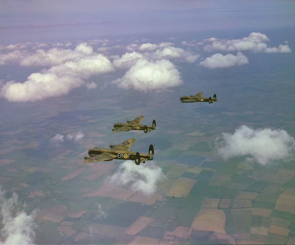 Avro Lancaster B.I aircraft of 207 Squadron RAF, 20 June 1942