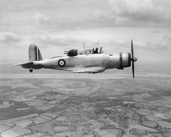 Blackburn Roc I (L3084) in flight, 1937