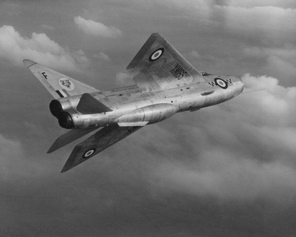 English Electric Lightning F.1 of 74 Squadron RAF, Coltishall 1960