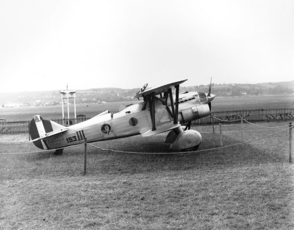 Fiat CR.32 bis (2975 153-III) of the Italian Air Force, Zurich 1937
