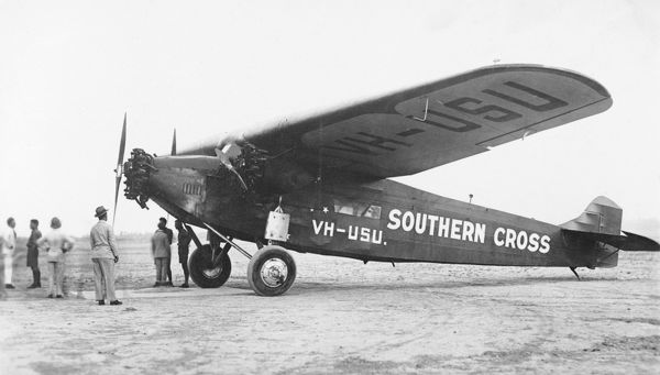 Anthony Fokker designed the Trimotor used by Charles Kingsford-Smith to break records