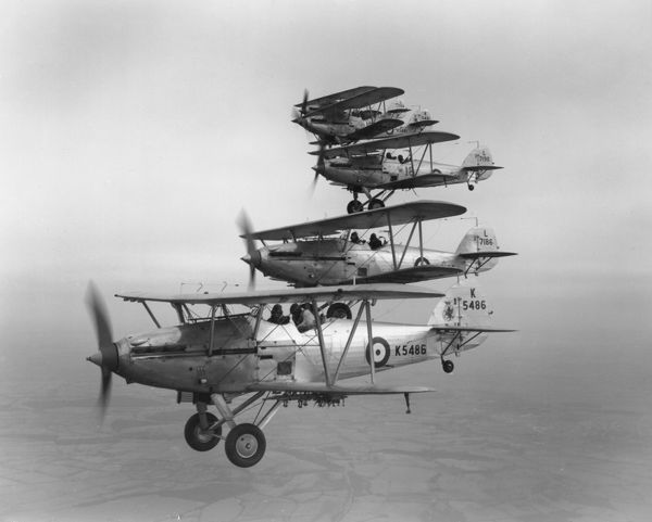 Hawker Hind bombers of 18 Squadron, 1938
