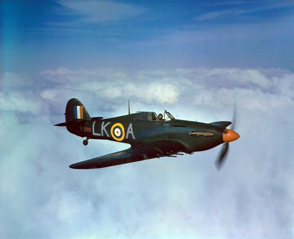 Hawker Hurricane IIc night fighter of 87 Squadron RAF, 1942