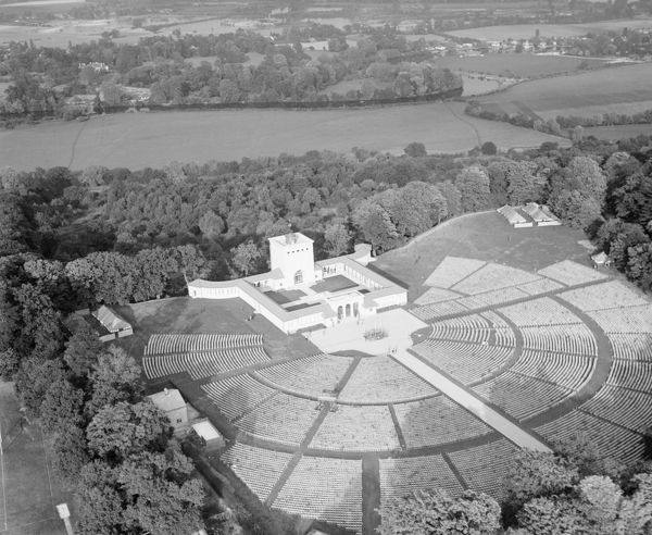 The Air Forces Memorial, Runnymede, prior to its opening in 1953