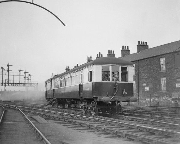 Sentinel Steam Railcar 265 Neptune of the London & North Eastern Railway, built to Diagram 89 in 1928