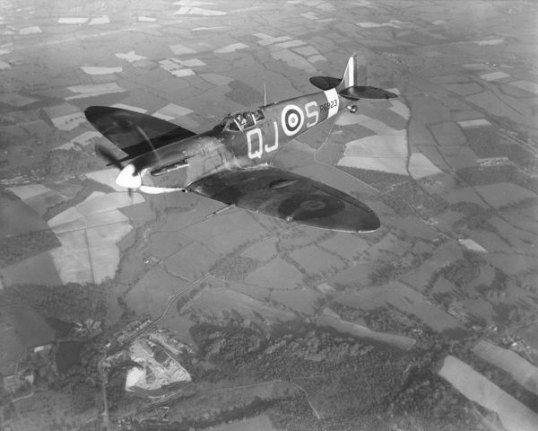 Supermarine Spitfire VB of 92 Squadron RAF