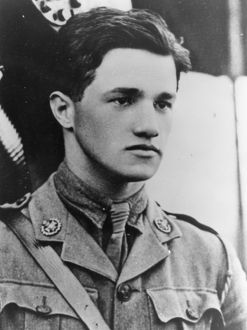 Captain Albert Ball VC DSO (2 bars) MC