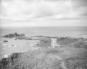 Direction finding tower MP2, La Corbiere, Jersey, May 1945
