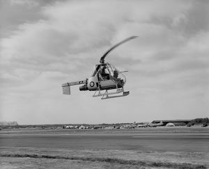Fairey Ultralight helicopter XJ924 at Farnborough, 1955