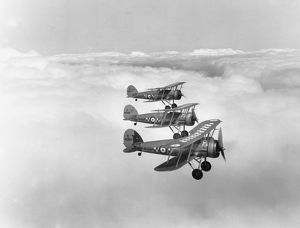 Gloster Gauntlet I aircraft of 19 Sqn RAF