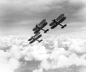 Gloster Gladiator I aircraft of 87 Squadron