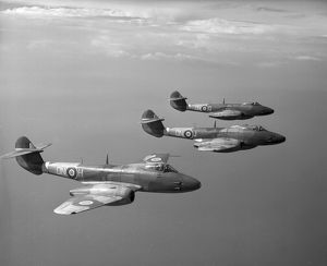 Gloster Meteor F.3 aircraft