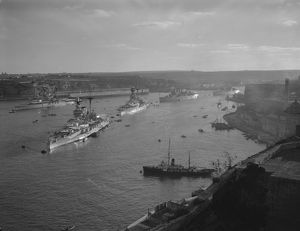 Grand Harbour, Malta 1935