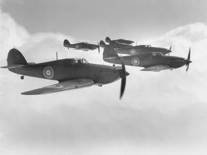 Hawker Hurricane I aircraft of 111 Sqn RAF