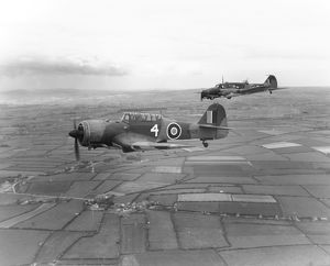 Miles Martinet I and Avro Anson I
