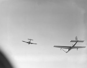 A Winged Target towed by a Martinet TT.1